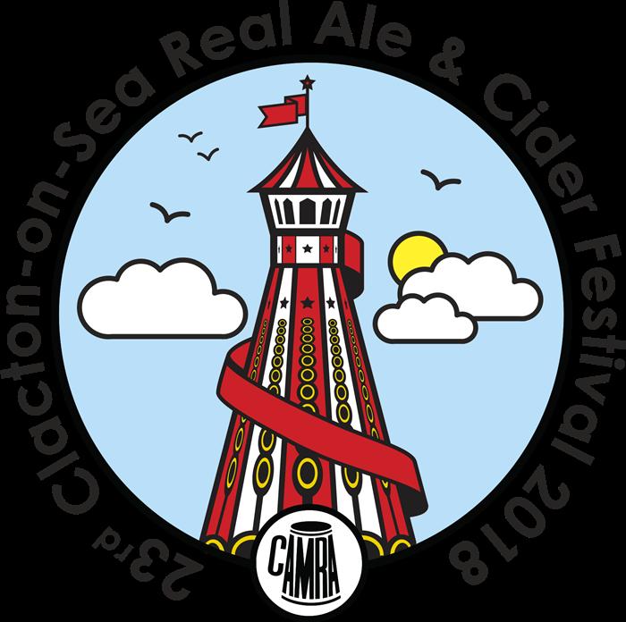 23rd Clacton Festival logo